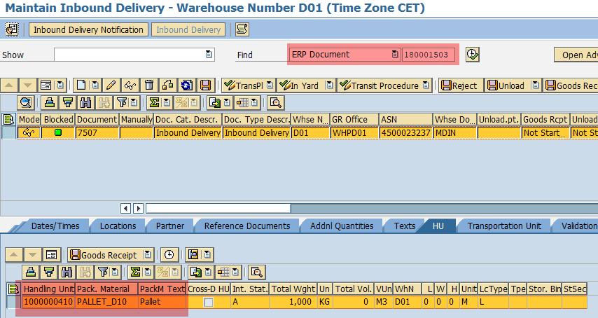 Flow-Through Cross-Docking in SAP EWM | WMexperts online