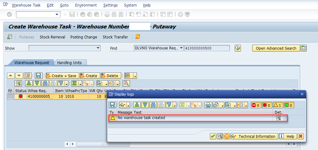 Quality inspection blocking in SAP EWM_4