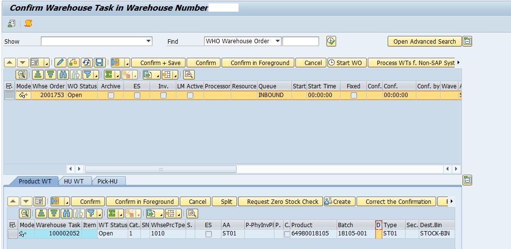 Quality inspection blocking in SAP EWM_9