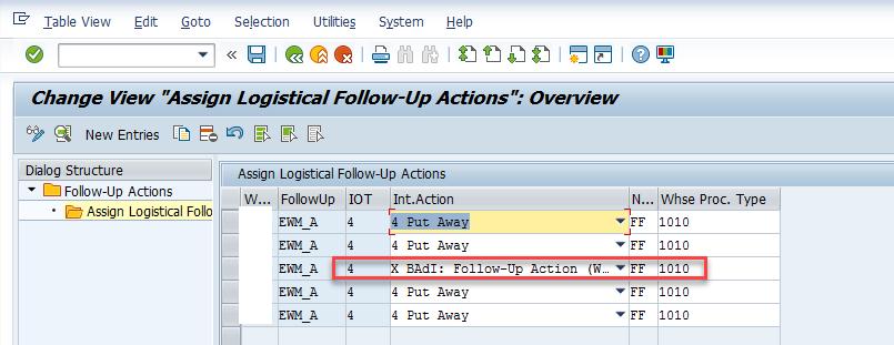 Quality inspection blocking in SAP EWM_14