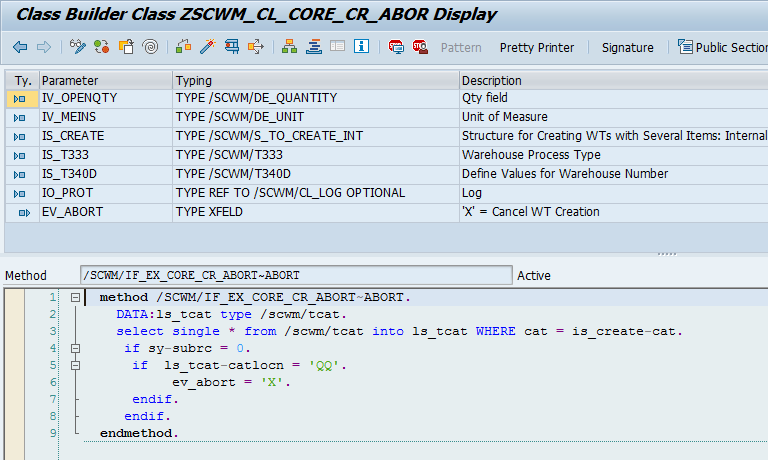 Quality inspection blocking in SAP EWM_17