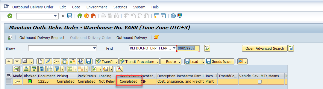 Intercompany Stock Transport Order In Sap
