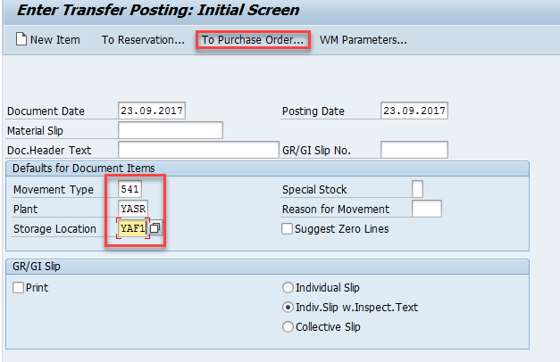 Subcontracting with SAP EWM | WMexperts online