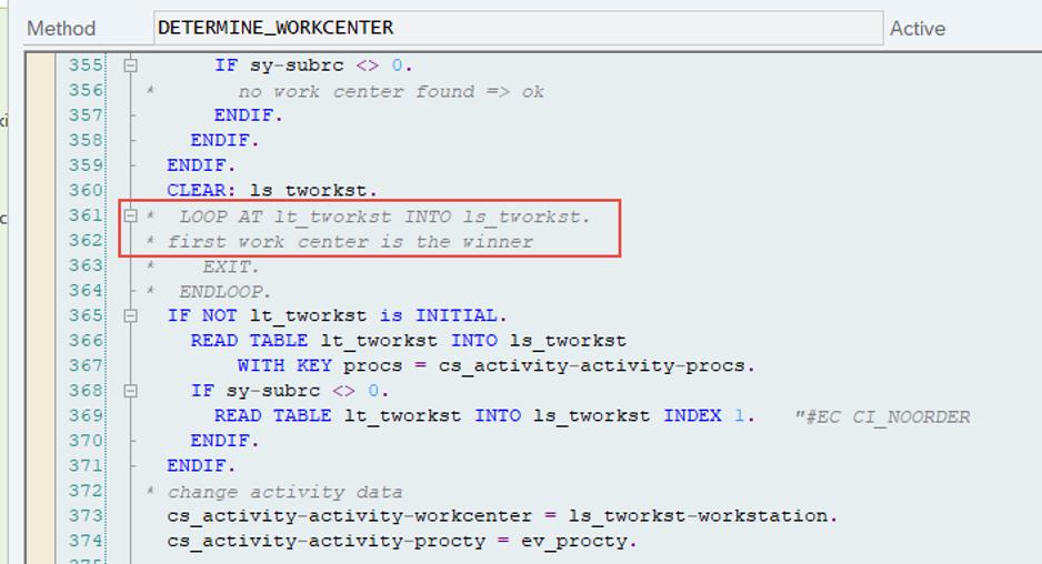 SAP EWM KTS work center determination_13