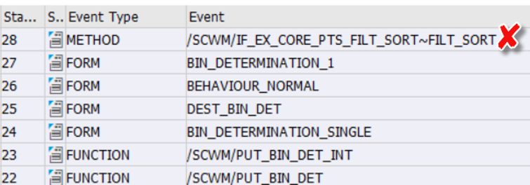 SAP EWM Putaway bin determination_10