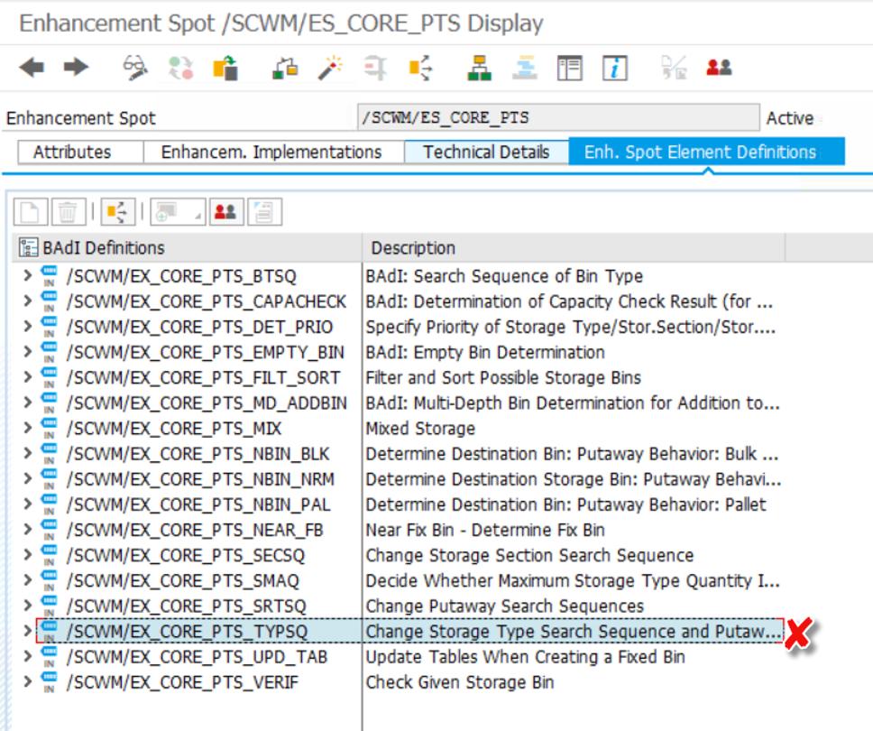 SAP EWM Putaway bin determination_15