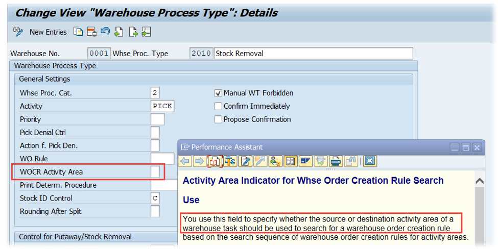 SAP EWM Warehouse order creation rules_03