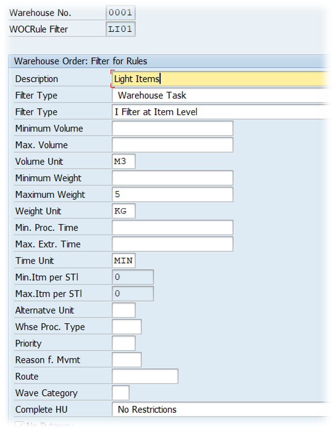 SAP EWM Warehouse order creation rules_13