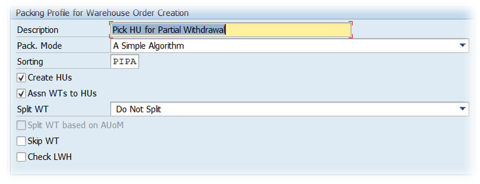 SAP EWM Warehouse order creation rules_19