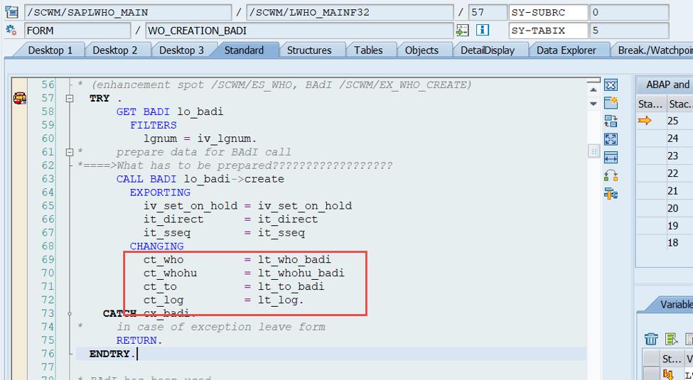 Enhance SAP EWM WOCRs_08
