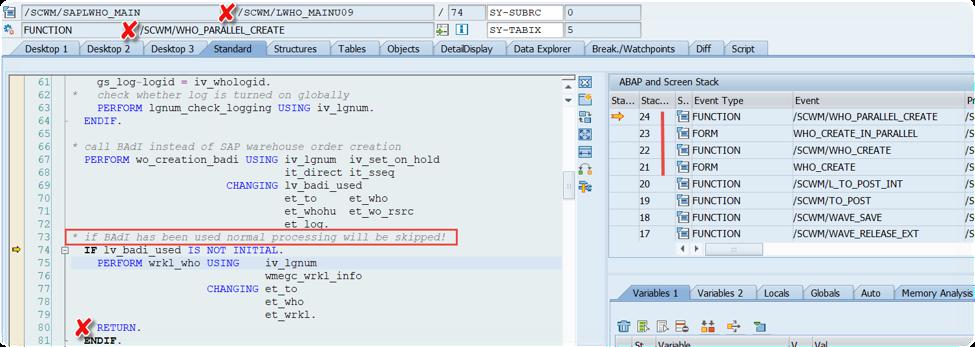 Enhance SAP EWM WOCRs_09