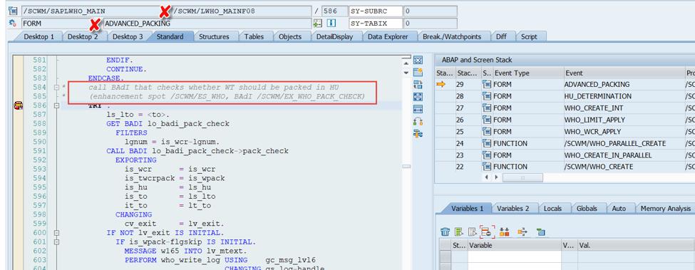 Enhance SAP EWM WOCRs_26