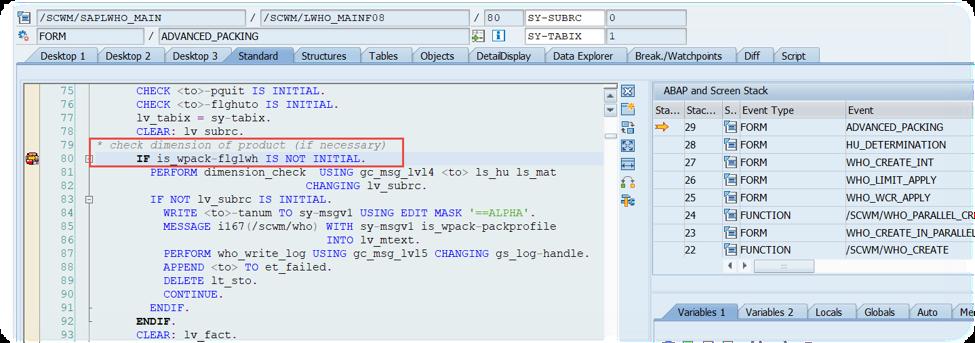 Enhance SAP EWM WOCRs_29