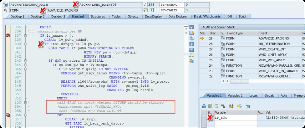 Enhance SAP EWM WOCRs_34