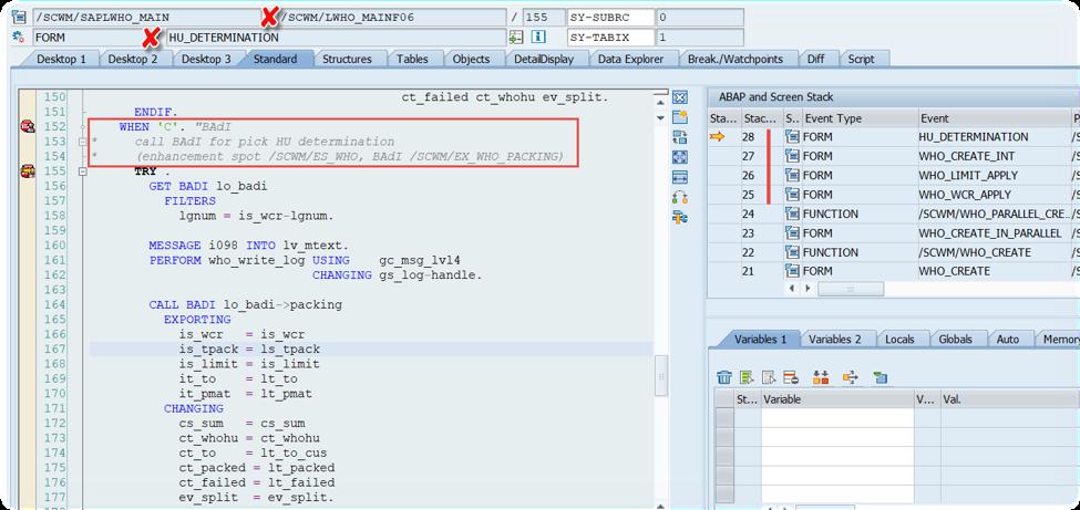 Enhance SAP EWM WOCRs_38