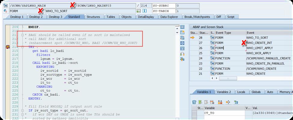 Enhance SAP EWM WOCRs_42